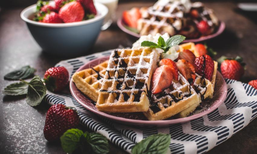 waffle vegano