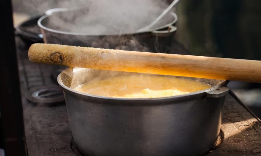 girare la polenta