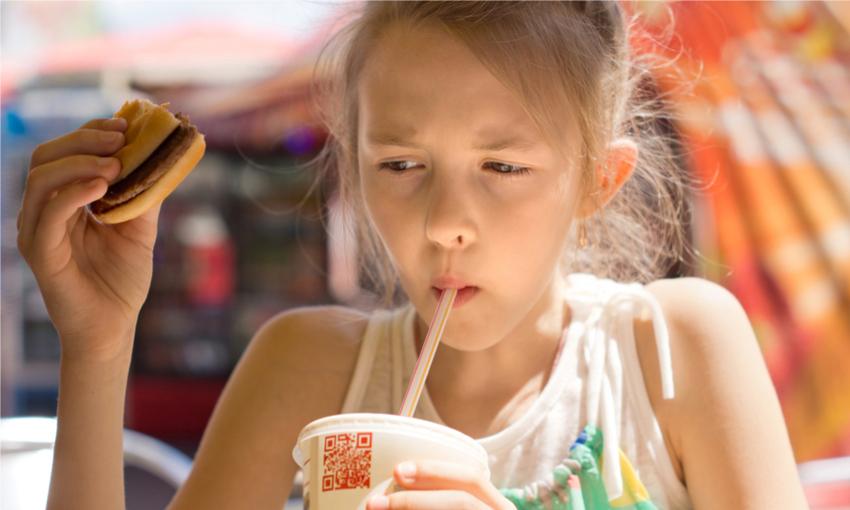 bambini junk food