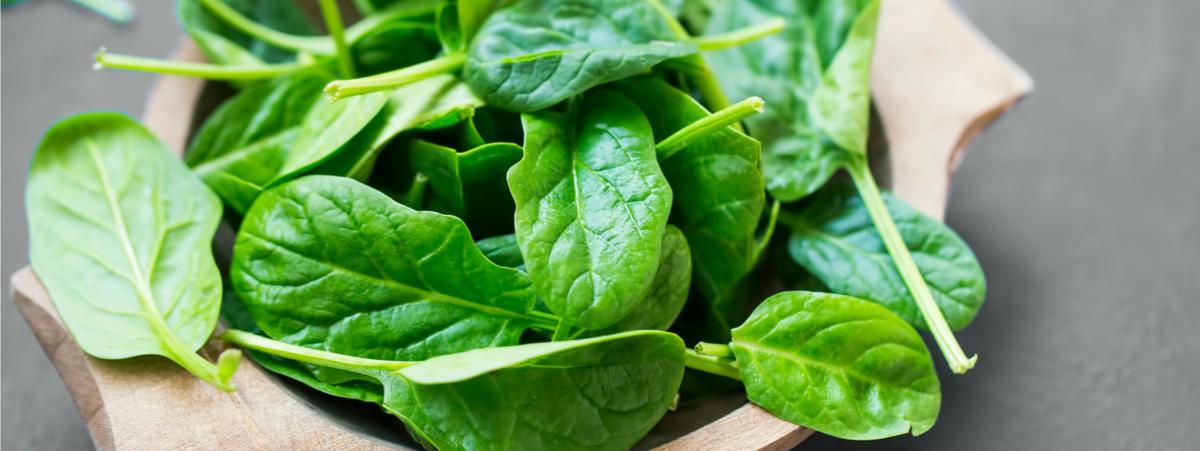spinaci proprietà