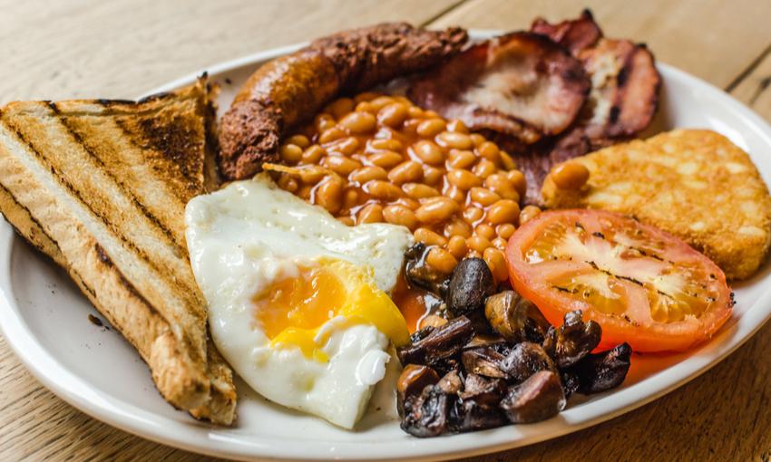 colazione inglese