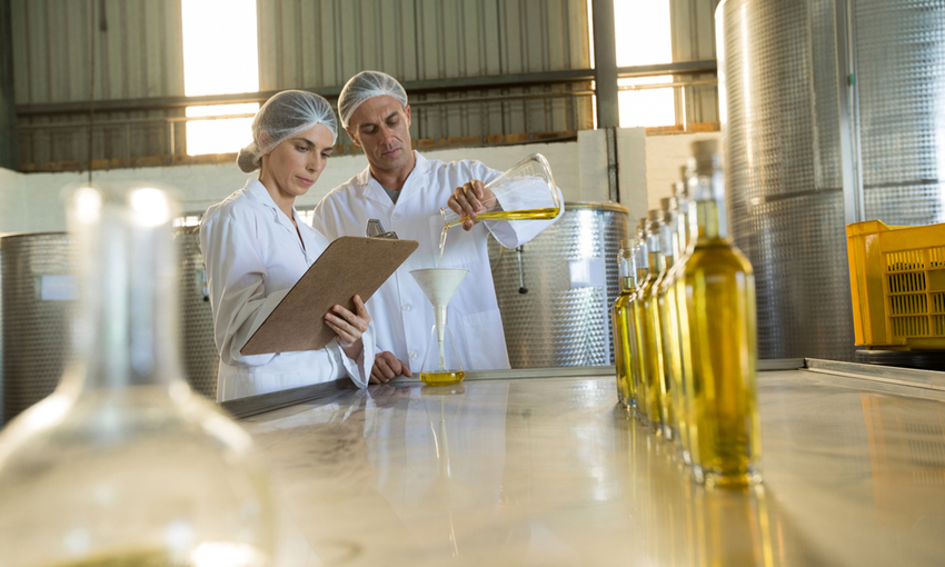 controlli produzione olio d'oliva