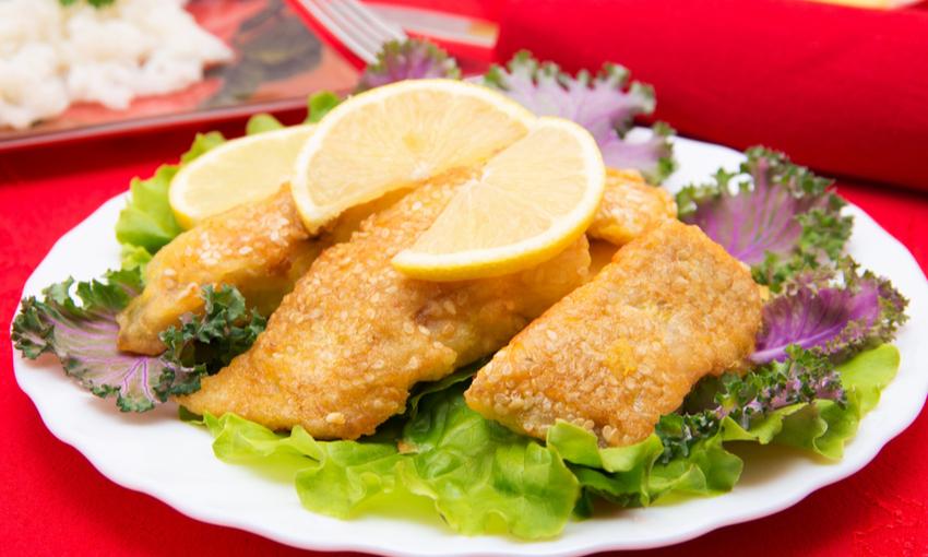 pesce siluro impanato