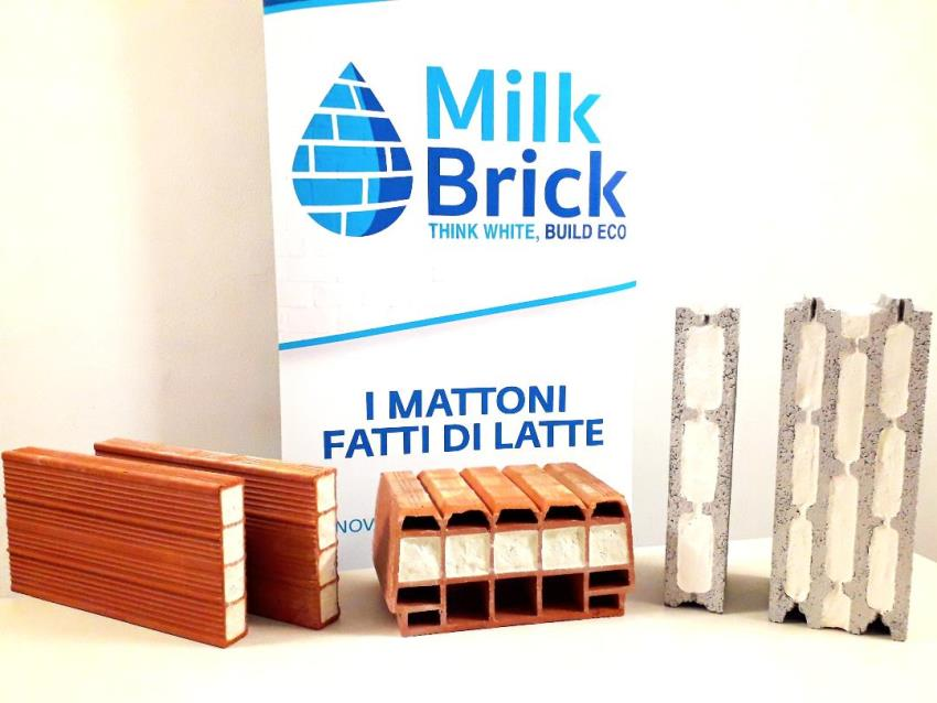 milk brick mattoni isolanti