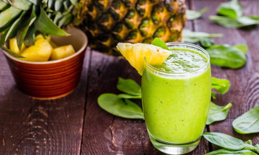 frullato ananas kiwi zenzero