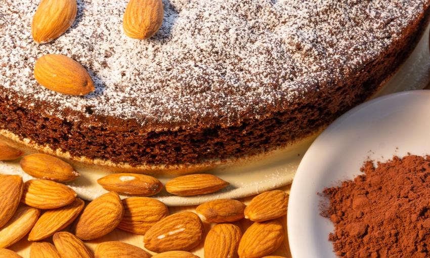 torta caprese con lievito