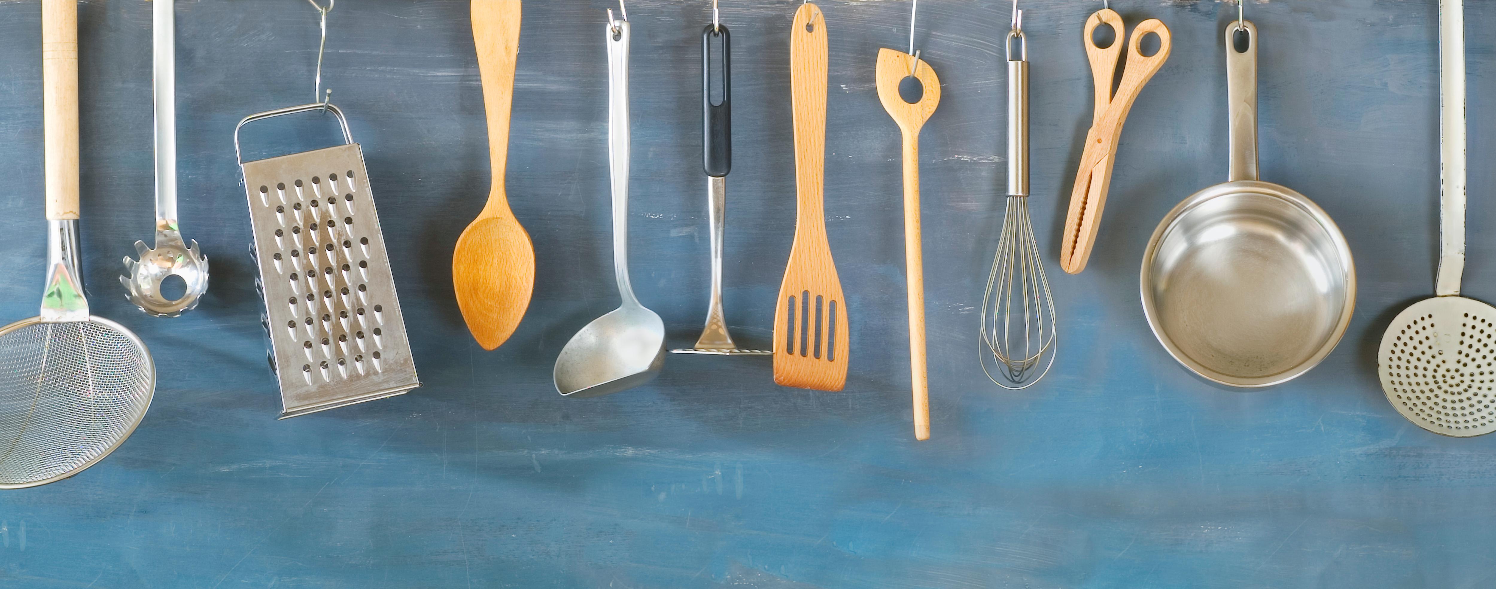 utensili da cucina materiali