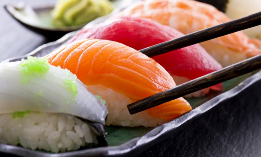 consumo sushi