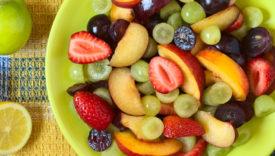 insalate con la frutta