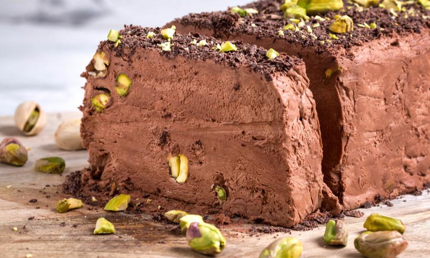 semifreddo cioccolato pistacchio