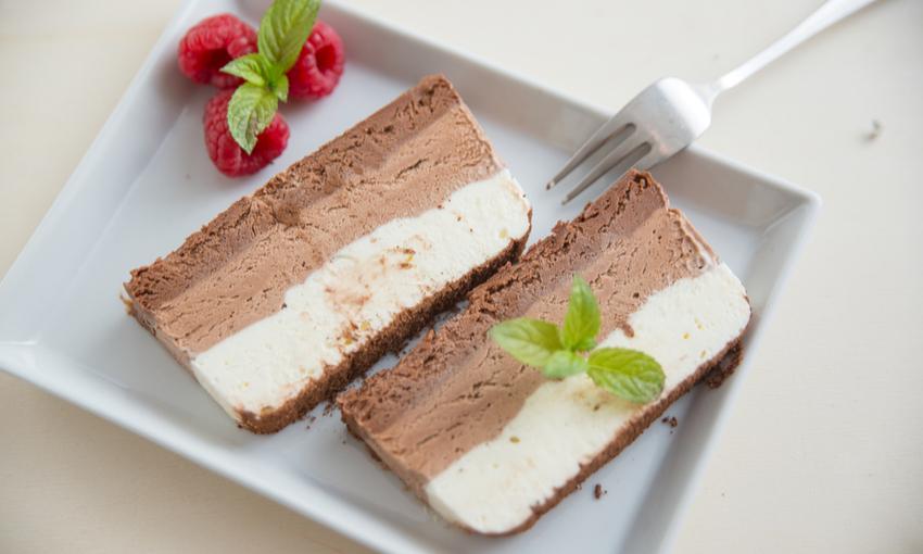 semifreddo tre cioccolati