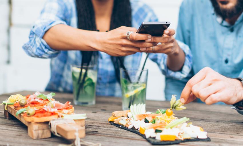 cibo su instagram
