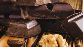 cioccolato senza tracce frutta a guscio