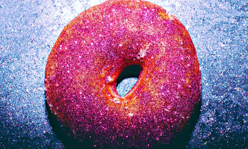 glitter food