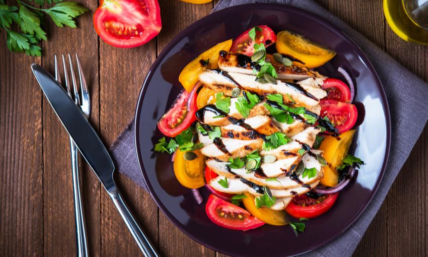 grigliata verdure pollo