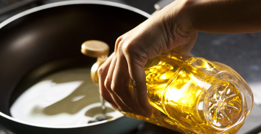 riciclare olio da cucina