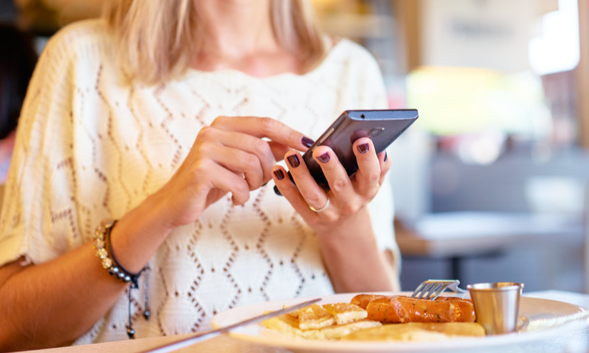 ristorante menù digitale