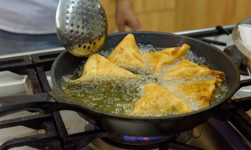 smaltire olio frittura