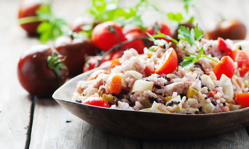 trucchi insalata di riso