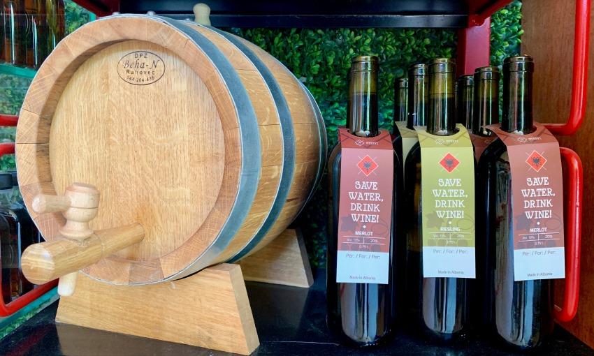 vino albanese
