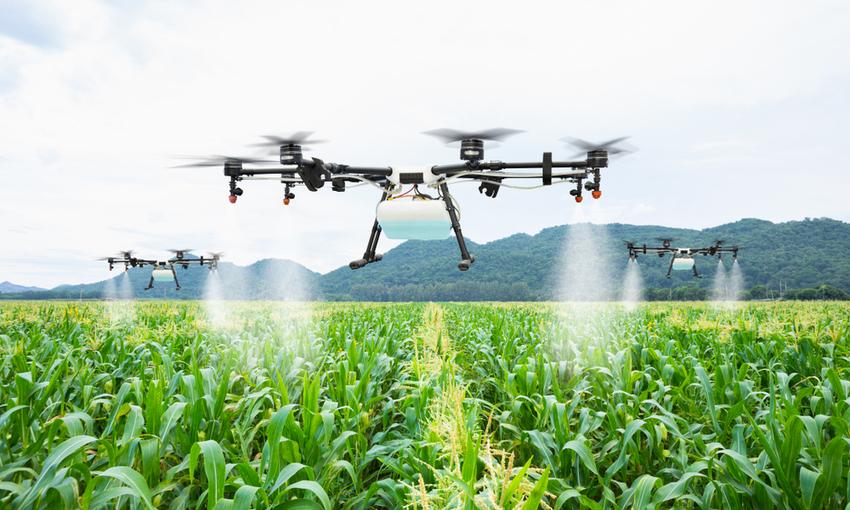 utilizzo dei droni in agricoltura