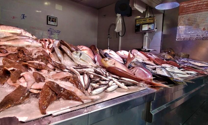 huelva mercato del pesce