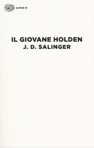 copertina del libro Il Giovane Holden