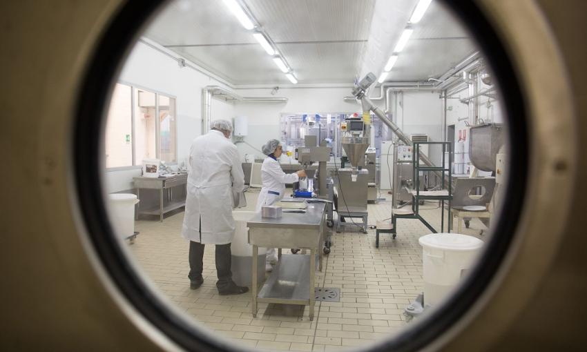 Alessandro Croce laboratorio