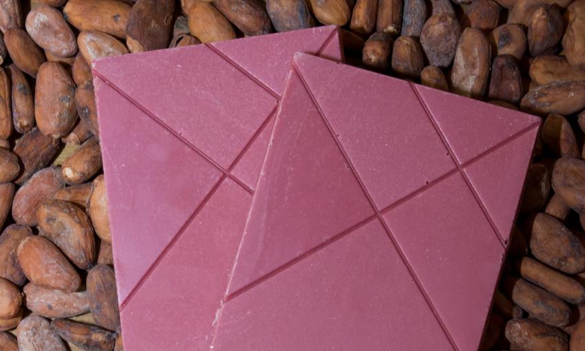 tavolette di cioccolato rosa