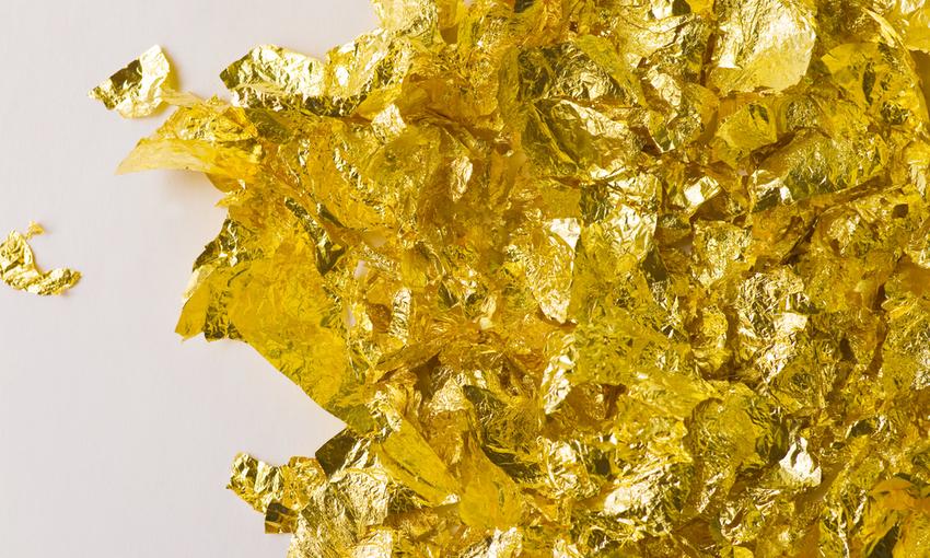 foglia di oro alimentare