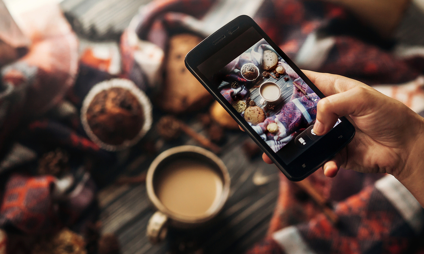 instagram foto di caffè