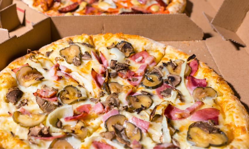 pizza da asporto