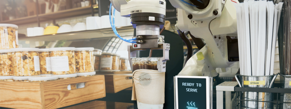 ristoranti con robot