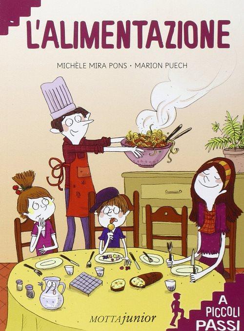 copertina del libro L'alimentazione a piccoli passi