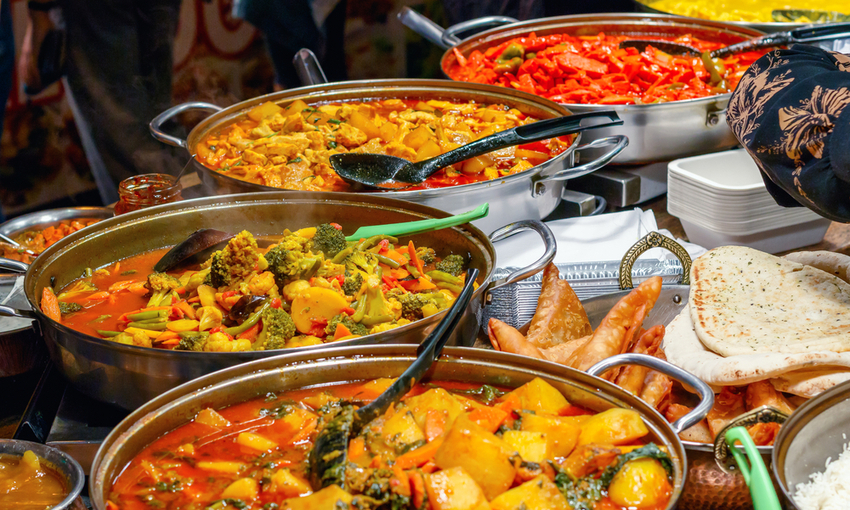 piatti etnici al camden market