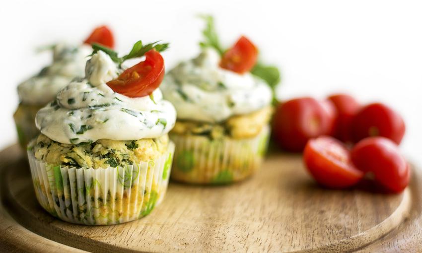 cupcake agli spinaci