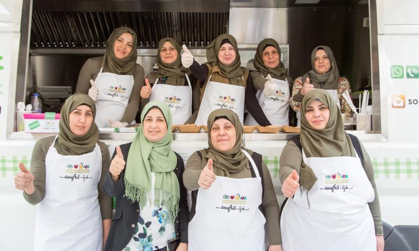 donne del progetto soufra kitchen