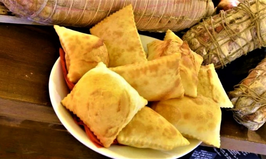 gnocco fritto porca polenta