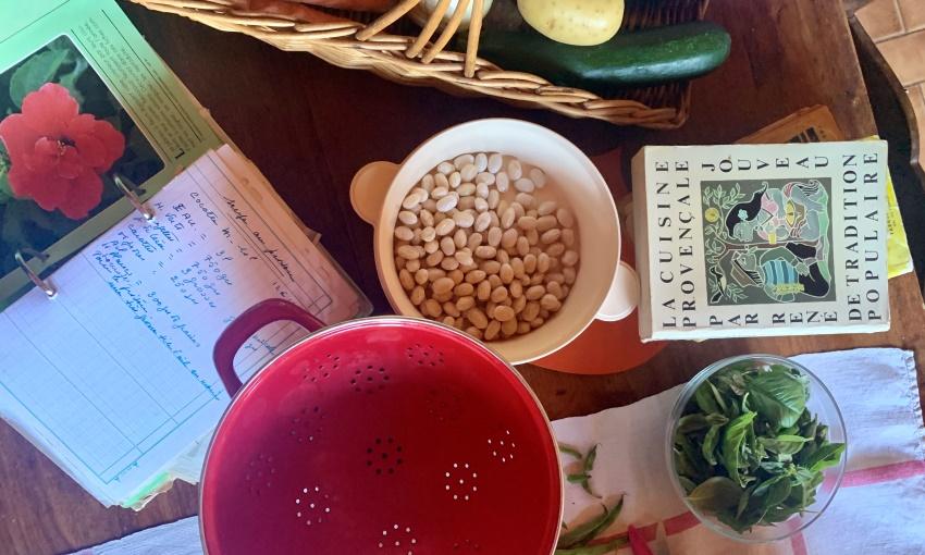 ingredienti della soupe au pistou