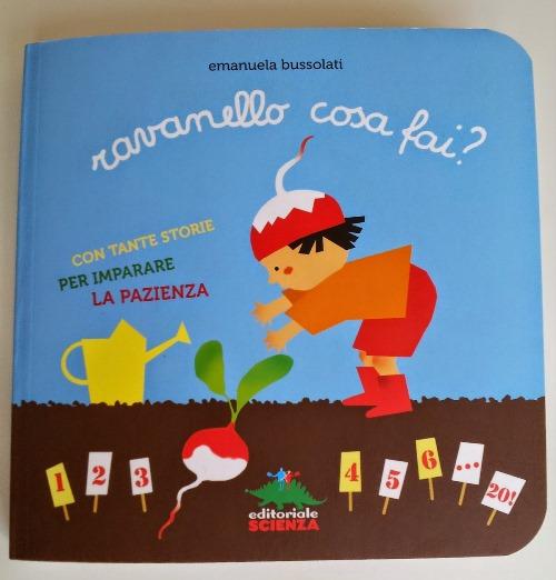 copertina del libro Ravanello cosa fai?