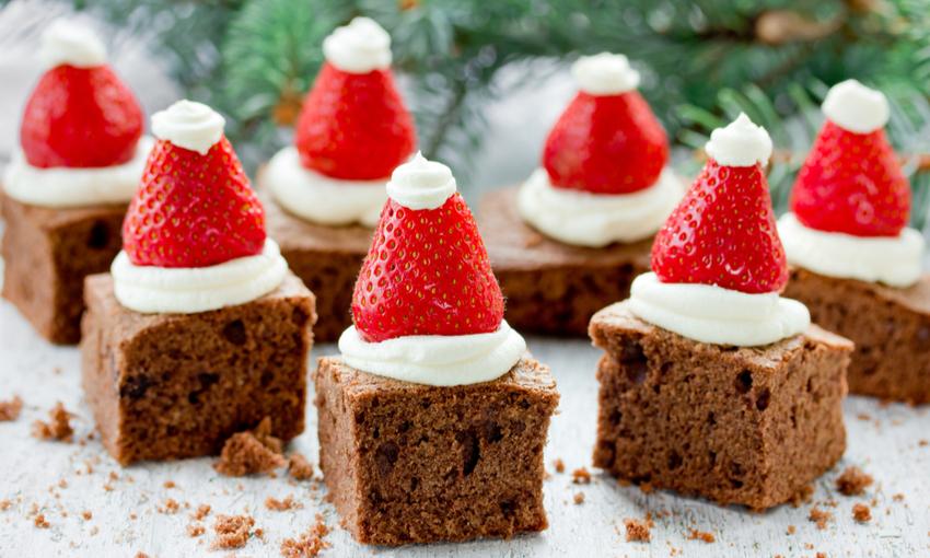 brownies natalizi