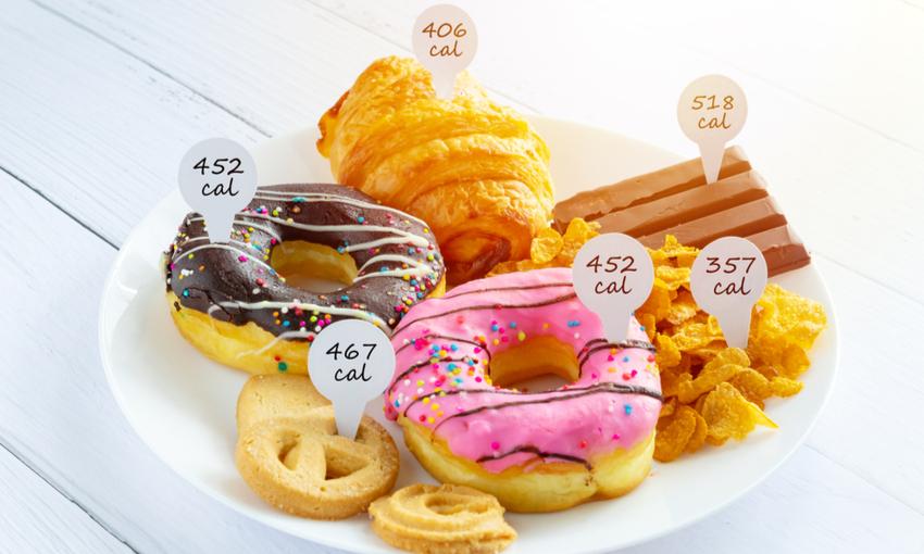 calcolo calorie cibo