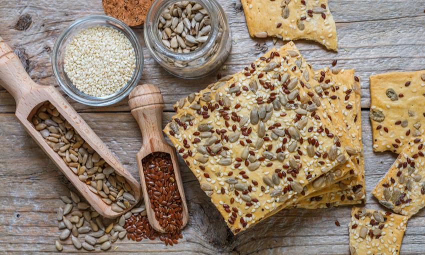 Crackers con i semi