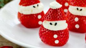 decorazioni natalizie con il cibo