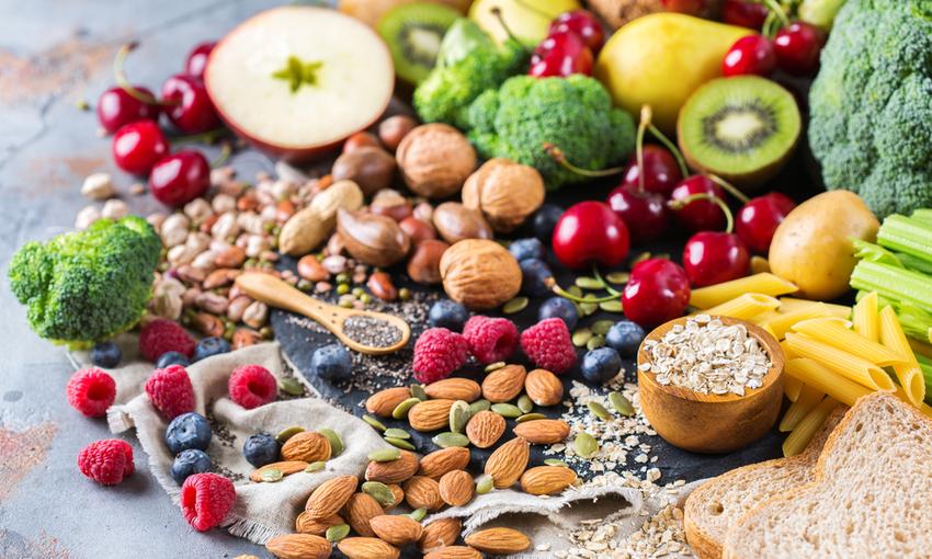 dieta vegana cibo
