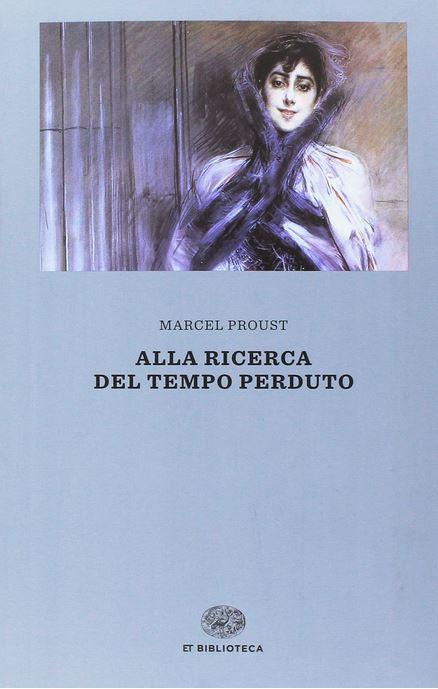 copertina del libro alla ricerca del tempo perduto