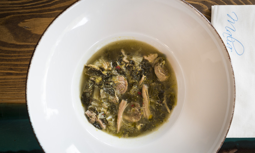 minestra maritata tradizionale