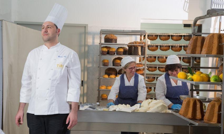 Il laboratorio di pasticceria di Vincenzo Tiri