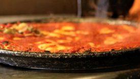 pizza al trancio in tegame
