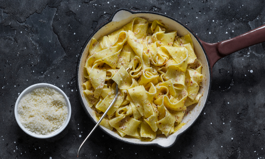 pappardelle noci